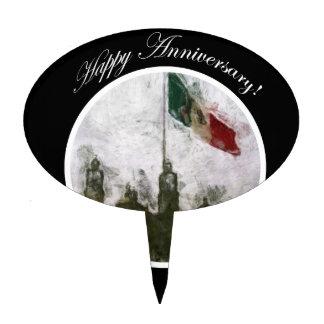 La Bandera 4 de la estafa del EL Zocalo del DF del Figuras Para Tartas