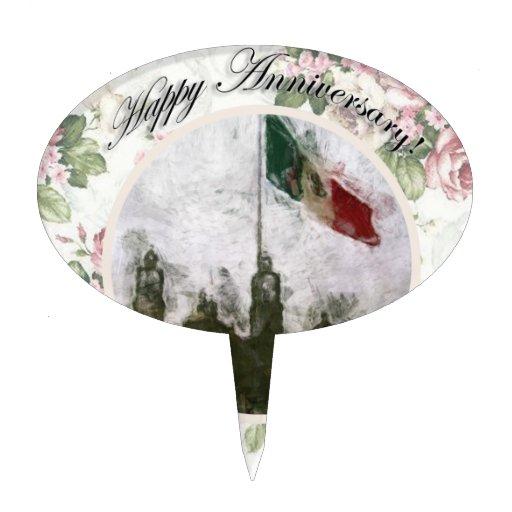 La Bandera 4 de la estafa del EL Zocalo del DF del Figura Para Tarta