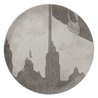 La Bandera 6 de la estafa del EL Zocalo del DF del Platos Para Fiestas
