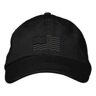 La bandera americana de los E.E.U.U. protagoniza Gorras De Beisbol Bordadas