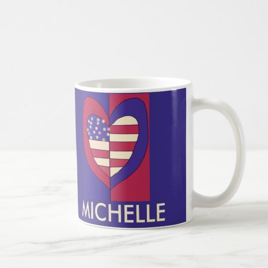 La bandera americana inspiró diseño original taza de café