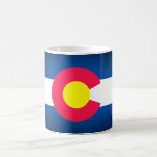 La bandera de Colorado se descolora taza de la
