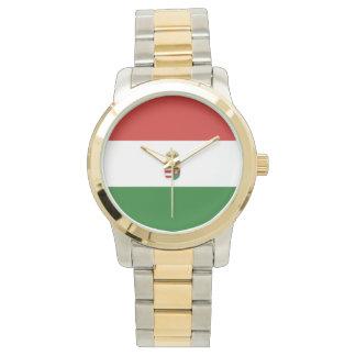 La bandera de Hungría Reloj De Pulsera