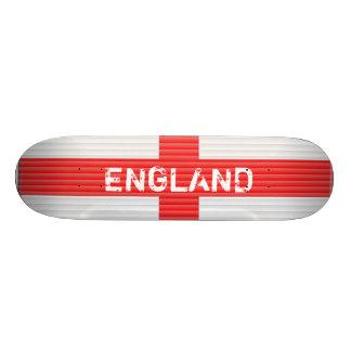 La bandera de Inglaterra, persianas texturiza la c Patineta Personalizada