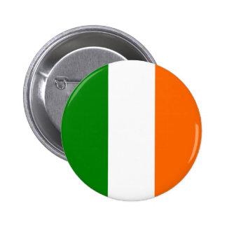 La bandera de Irlanda Chapa Redonda 5 Cm