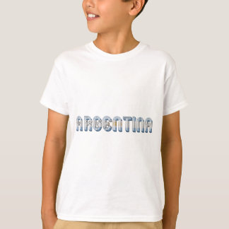 La bandera de la Argentina Argentina colorea Camiseta
