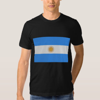 La bandera de la Argentina Camisetas