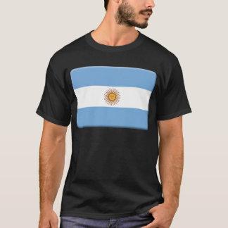La bandera de la Argentina PERSONALIZA Camiseta