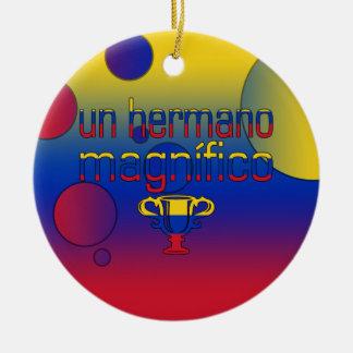 La bandera de la O N U Hermano Magnífico Venezuela