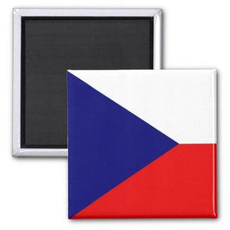 La bandera de la República Checa Imanes