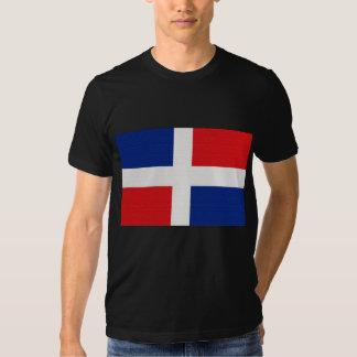 La bandera de la República Dominicana Camisas
