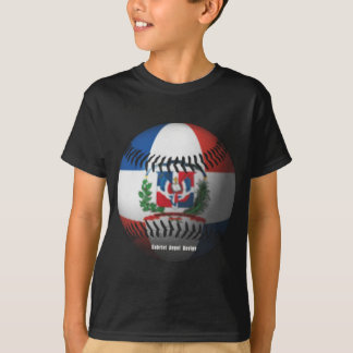 La bandera de la República Dominicana cubrió Camiseta