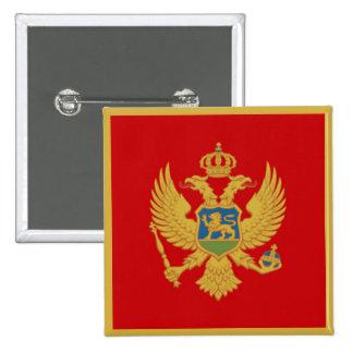 La bandera de Montenegro Pins