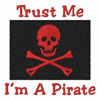 La bandera de pirata bordada personalizable junta