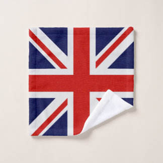 La bandera de Reino Unido chispea el sistema de la