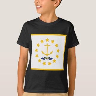 La bandera de Rhode Island. Camiseta
