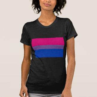 La bandera del BI vuela para el orgullo bisexual Camiseta