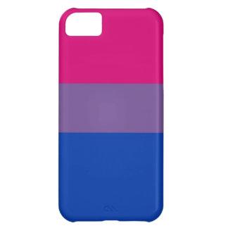 La bandera del BI vuela para el orgullo bisexual Funda Para iPhone 5C