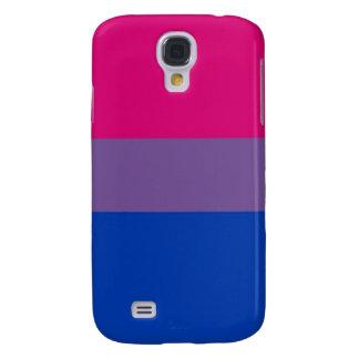 La bandera del BI vuela para el orgullo bisexual Funda Para Galaxy S4