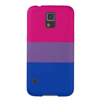 La bandera del BI vuela para el orgullo bisexual Funda De Galaxy S5