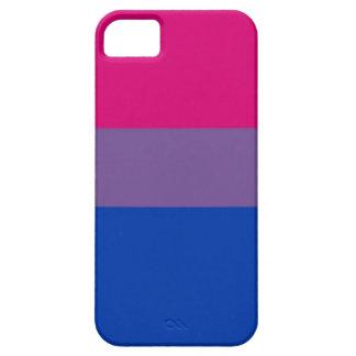 La bandera del BI vuela para el orgullo bisexual iPhone 5 Case-Mate Cobertura