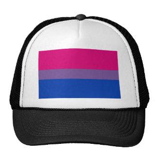 La bandera del BI vuela para el orgullo bisexual Gorro De Camionero