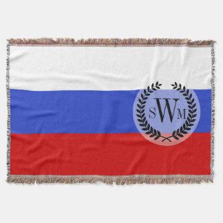 La bandera del ruso manta