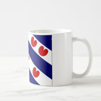 La bandera holandesa de Frisia Taza De Café