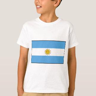 La bandera nacional de la Argentina Camiseta