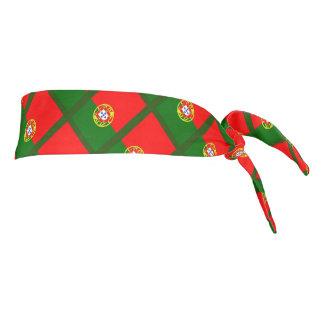 La bandera portuguesa de Portugal se divierte la