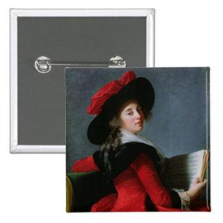 La Baronne de Crussol, 1785 Chapa Cuadrada