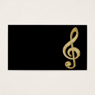 La barra de oro brillante impresionante efectúa tarjeta de negocios