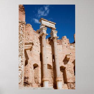 La basílica de Severan, Leptis Magna, Al Khums Posters