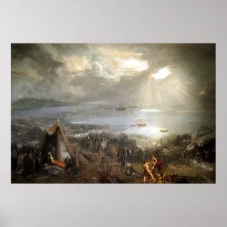 La batalla de Clontarf Póster
