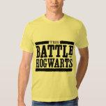 La batalla de Hogwarts Camisetas