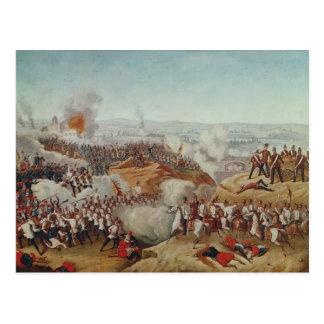 La batalla de la magenta, el 4 de junio de 1859, postal