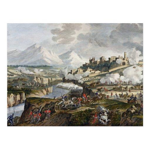 La batalla de Roveredo, 18 Fructidor, año 4 (sept. Tarjeta Postal