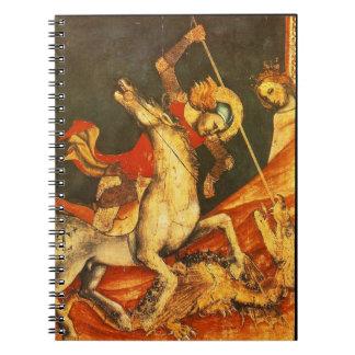 La batalla de San Jorge con el dragón Cuaderno