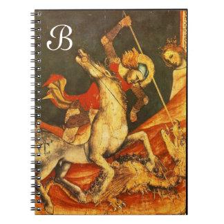 La batalla de San Jorge con el dragón Libros De Apuntes