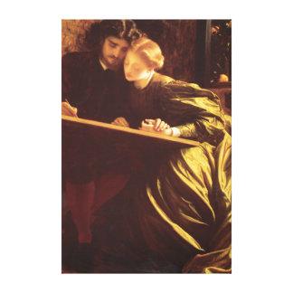 La bella arte de Fredric Leighton de la luna de