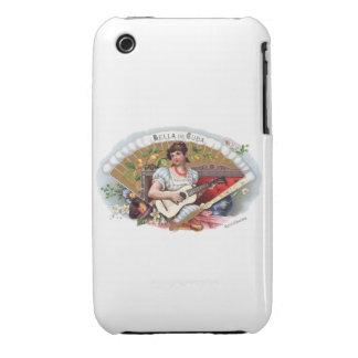 La Bella de Cuba Vintage Cubano Carcasa Para iPhone 3