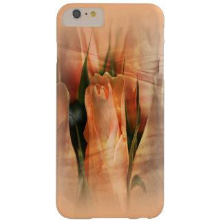 La belleza nebulosa del albaricoque subió iPhone 6 Funda Barely There iPhone 6 Plus
