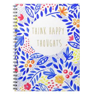 Cuaderno La belleza piensa el cuaderno feliz de los