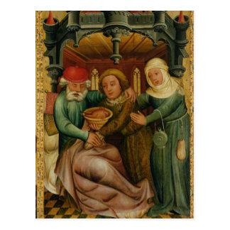 La bendición robada del alto altar postal
