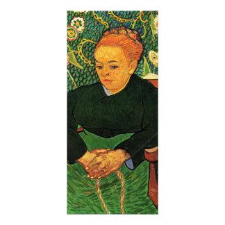 La Berceuse Augustine Roulin de Vincent van Gogh Plantillas De Lonas