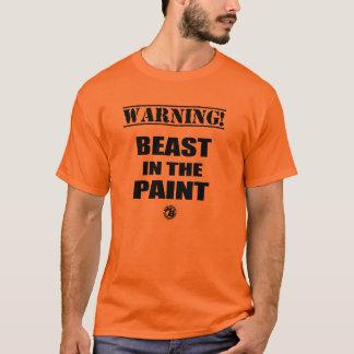 """La """"bestia anaranjada en la pintura"""" verdad la camiseta"""