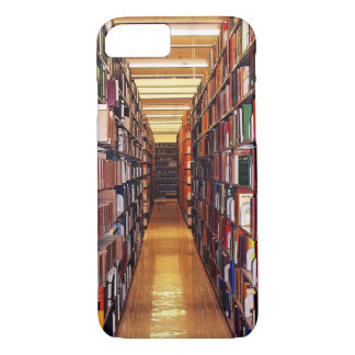 La biblioteca reserva el caso del iPhone 7 Funda Para iPhone 8/7