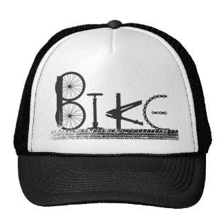 La bici parte el diseño urbano de la pintada de la gorras