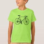 La bicicleta embroma la camiseta