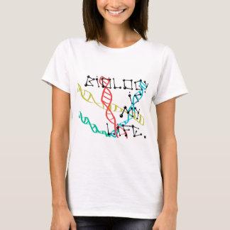 La biología es mi vida camiseta